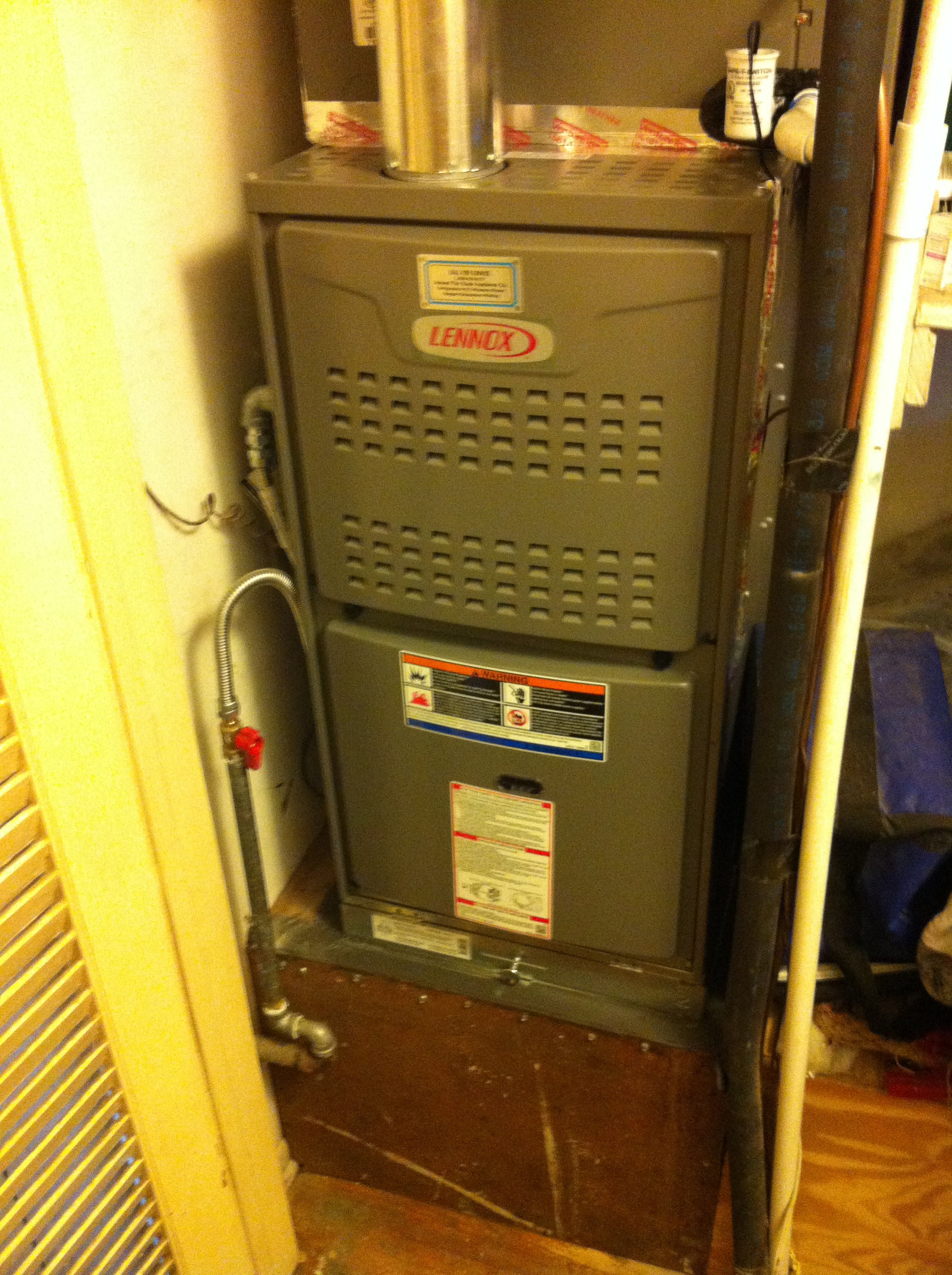 HVAC system Installation of efficient economical gas heating solution  #C1C407