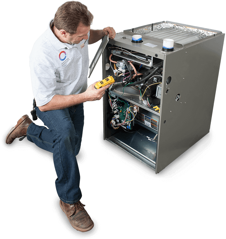 Heating and Air Conditioning Services in Porter Ranch, California - Technician 3