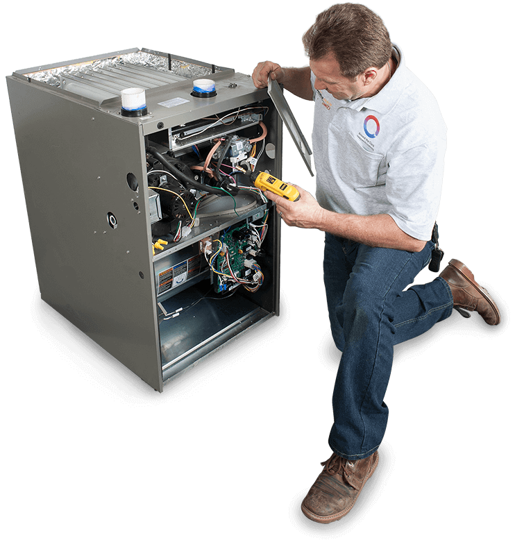 Heating and Air Conditioning Services in Sherman Oaks, California - Technician 4