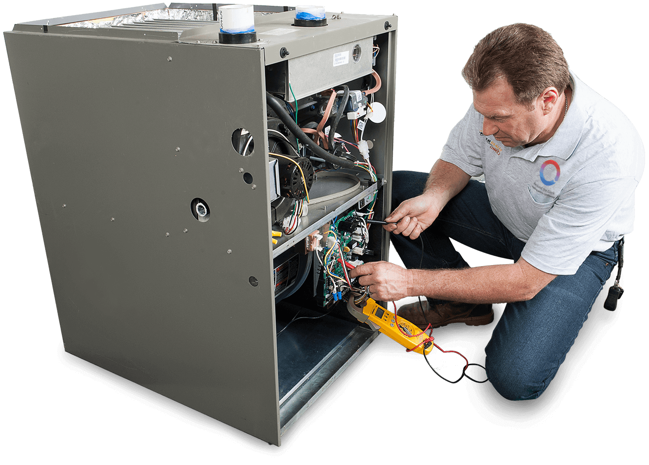 Heating and Air Conditioning Services in Santa Monica, California - Technician 3
